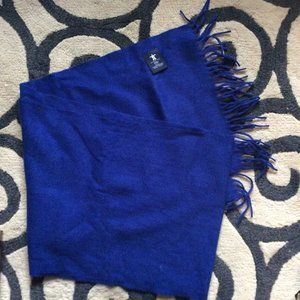 Other - 100% Wool Blue Scarf Vancouver 2010 Olympics